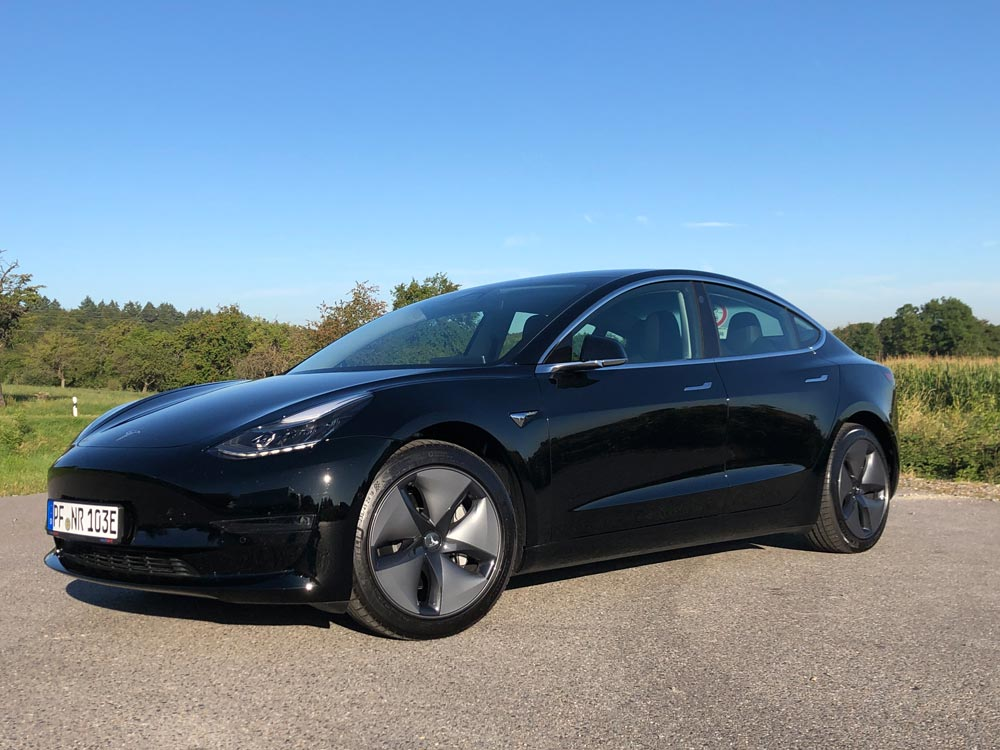 Bilder Tesla Model 3 Max  Reichweite - nextrent de